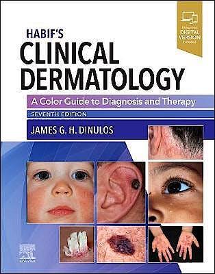 Portada del libro 9780323612692 Habif's Clinical Dermatology. A Color Guide to Diagnosis and Therapy (Print + Online)