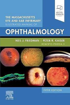 Portada del libro 9780323613323 The Massachusetts Eye and Ear Infirmary Illustrated Manual of Ophthalmology (Print + Online)