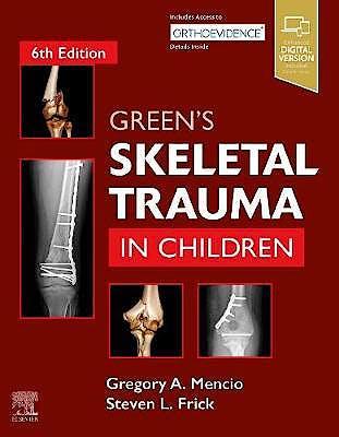 Portada del libro 9780323613361 Green's Skeletal Trauma in Children