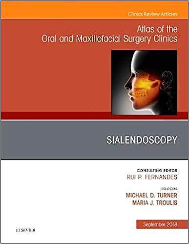 Portada del libro 9780323613743 Sialendoscopy (An Issue of Atlas of the Oral and Maxillofacial Surgery Clinics) POD