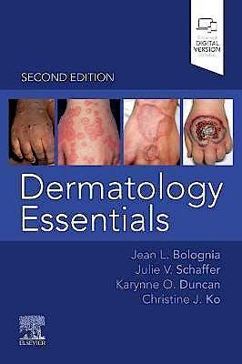 Portada del libro 9780323624534 Dermatology Essentials