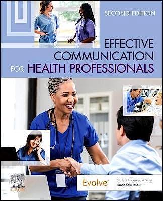 Portada del libro 9780323625456 Effective Communication for Health Professionals