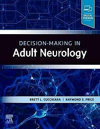 Portada del libro 9780323635837 Decision-Making in Adult Neurology