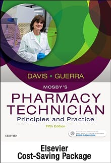Portada del libro 9780323636308 Mosby's Pharmacy Technician. Text and Workbook/Lab Manual Package