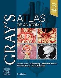 Portada del libro 9780323636391 Gray's Atlas of Anatomy (Print + Online)