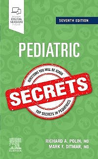Portada del libro 9780323636650 Pediatric Secrets