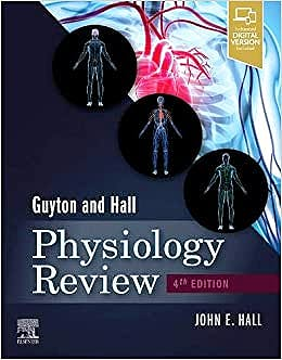 Portada del libro 9780323639996 Guyton & Hall Physiology Review