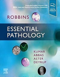 Portada del libro 9780323640251 ROBBINS Essential Pathology