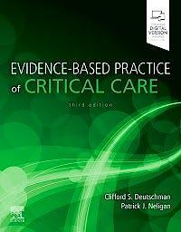 Portada del libro 9780323640688 Evidence-Based Practice of Critical Care (Print + Online)
