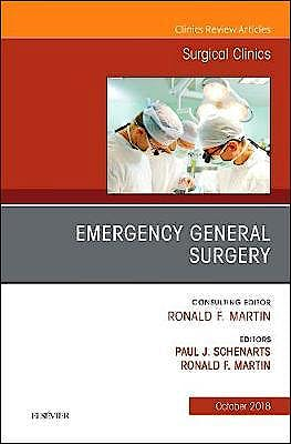 Portada del libro 9780323640992 Emergency General Surgery (An Issue of Surgical Clinics)