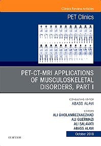 Portada del libro 9780323641128 PET-CT-MRI Applications in Musculoskeletal Disorders, Part I (An Issue of PET Clinics) POD