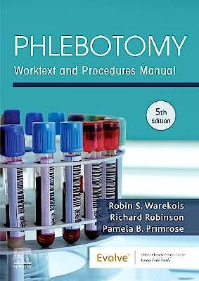 Portada del libro 9780323642668 Phlebotomy. Worktext and Procedures Manual