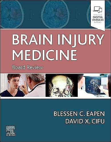 Portada del libro 9780323653855 Brain Injury Medicine. Board Review (Print + Online)