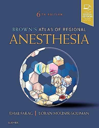 Portada del libro 9780323654357 Brown's Atlas of Regional Anesthesia