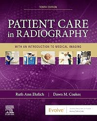 Portada del libro 9780323654401 Patient Care in Radiography. With an Introduction to Medical Imaging