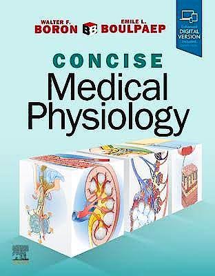Portada del libro 9780323655309 Boron and Boulpaep Concise Medical Physiology