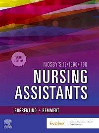 Portada del libro 9780323655613 Mosby's Textbook for Nursing Assistants