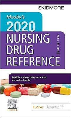Portada del libro 9780323661362 Mosby's 2020 Nursing Drug Reference