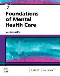 Portada del libro 9780323661829 Foundations of Mental Health Care
