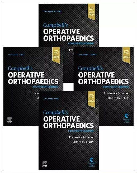 Portada del libro 9780323672177 CAMPBELL´s Operative Orthopaedics (4 Volume Set)