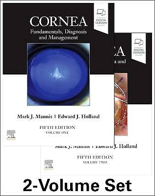 Portada del libro 9780323672405 Cornea. Fundamentals, Diagnosis and Management, 2 Volume Set (Includes Digital Version)