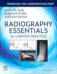Portada del libro 9780323673150 Workbook and Licensure Exam Prep for Radiography Essentials for Limited Practice
