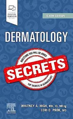 Portada del libro 9780323673235 Dermatology Secrets