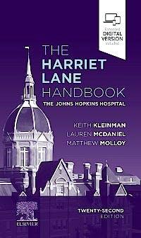Portada del libro 9780323674072 The Harriet Lane Handbook. The Johns Hopkins Hospital (Includes Digital Version)