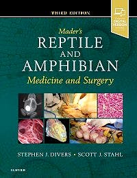 Portada del libro 9780323676618 Mader's Reptile and Amphibian Medicine and Surgery (Online and Print)