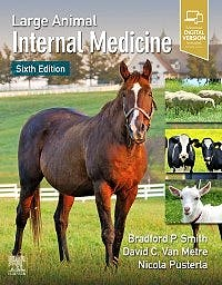 Portada del libro 9780323676885 Large Animal Internal Medicine