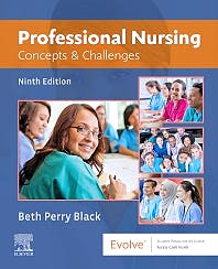 Portada del libro 9780323676892 Professional Nursing. Concepts and Challenges