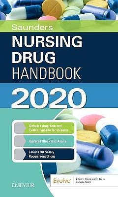 Portada del libro 9780323677622 Saunders Nursing Drug Handbook 2020
