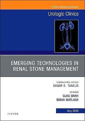 Portada del libro 9780323678643 Emerging Technologies in Renal Stone Management (An Issue of Urologic Clinics)