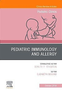 Portada del libro 9780323678926 Pediatric Immunology and Allergy (An Issue of Pediatric Clinics of North America)