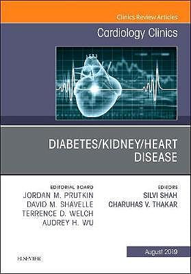 Portada del libro 9780323681216 Diabetes/Kidney/Heart Disease (An Issue of Cardiology Clinics)