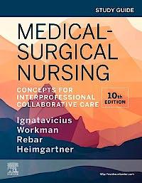 Portada del libro 9780323681476 Study Guide for Medical-Surgical Nursing. Concepts for Interprofessional Collaborative Care
