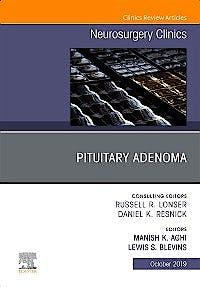 Portada del libro 9780323681681 Pituitary Adenoma (An Issue of Neurosurgery Clinics of North America)