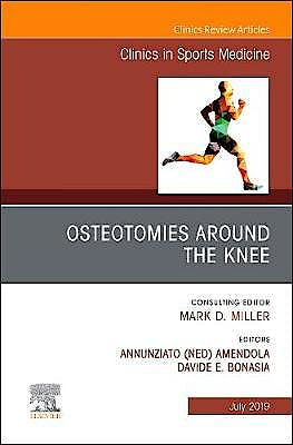 Portada del libro 9780323682077 Osteotomies Around the Knee (An Issue of Clinics in Sports Medicine, Vol. 38-3)