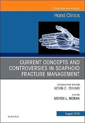 Portada del libro 9780323682107 Current Concepts and Controversies in Scaphoid Fracture Management (An Issue of Hand Clinics)