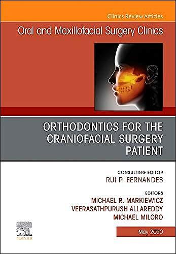 Portada del libro 9780323694926 Orthodontics for the Craniofacial Surgery Patient (Oral and Maxillofacial Clinics)