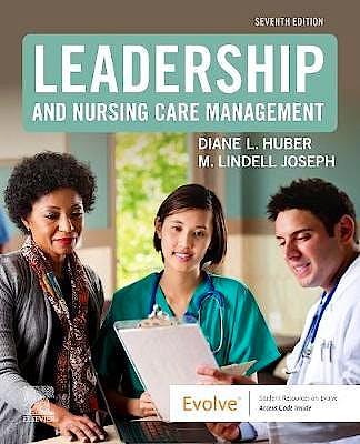 Portada del libro 9780323697118 Leadership and Nursing Care Management