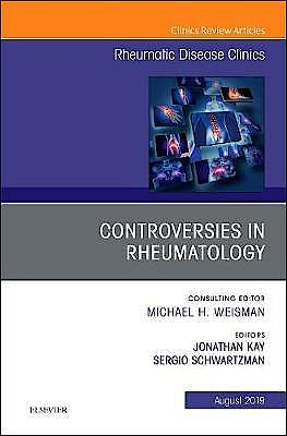 Portada del libro 9780323698283 Controversies in Rheumatology (An Issue of Rheumatic Disease Clinics of North America)