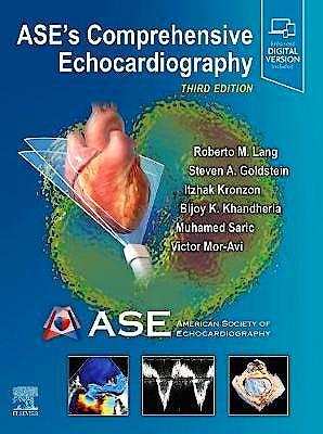 Portada del libro 9780323698306 ASE's Comprehensive Echocardiography