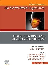 Portada del libro 9780323708982 Advances in Oral and Maxillofacial Surgery (An Issue of Oral and Maxillofacial Surgical Clinics) POD
