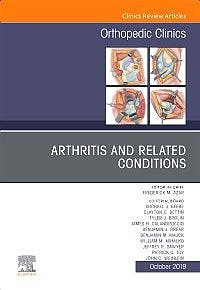 Portada del libro 9780323710404 Arthritis and Related Conditions (An Issue of Orthopedic Clinics)