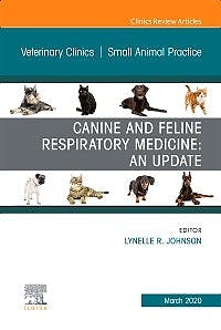 Portada del libro 9780323711739 Canine and Feline Respiratory Medicine (An Issue of Veterinary Clinics. Small Animal Practice)