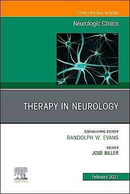 Portada del libro 9780323712811 Therapy in Neurology (An Issue of Neurologic Clinics)