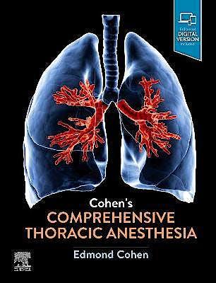 Portada del libro 9780323713016 Cohen's Comprehensive Thoracic Anesthesia