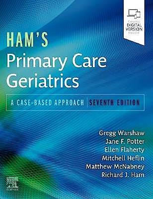 Portada del libro 9780323721684 Ham's Primary Care Geriatrics. A Case-Based Approach