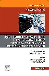 Portada del libro 9780323722766 Enhanced Recovery in the ICU After Cardiac Surgery (An Issue of Critical Care Clinics)